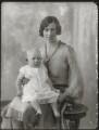 Lavinia Marie Cubitt (née French); Maud French (née Dease), by Bassano Ltd - NPG x124759