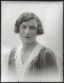 Valerie Woodhouse (née Phillips), Lady Terrington, by Bassano Ltd - NPG x124855