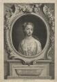 Frances Carteret (née Worsley), Lady Carteret, by Thomas Major, after  Christian Friedrich Zincke - NPG D21456