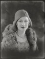 Gilly Flower (Kembray Ltd. Hat manufacturers), by Bassano Ltd - NPG x124885
