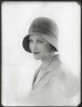 Gilly Flower (Kembray Ltd. Hat manufacturers), by Bassano Ltd - NPG x124886
