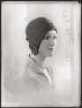 Gilly Flower (Kembray Ltd. Hat manufacturers), by Bassano Ltd - NPG x124888
