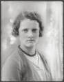 Lady Betty Mary Seton Hay-Drummond (née Montgomerie), by Bassano Ltd - NPG x124889