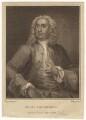 John Thornhill, by John Whessell, after  William Hogarth - NPG D21556
