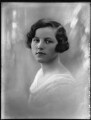 Lady Mary Sybil Dunn (née St Clair-Erskine), by Bassano Ltd - NPG x124916