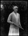 Elsie Alice Pittman (née Goldsack), by Bassano Ltd - NPG x124924