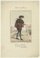 Harry A. Perry as Antonio in 'The Merchant of Venice', by Salucci, after  C.H. - NPG D21560