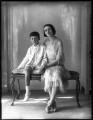Minoru Foley (née Greenstone), Lady Foley; Adrian Gerald Foley, 8th Baron Foley, by Bassano Ltd - NPG x124950
