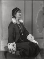 Blanche Alice Murray (née Scott), Viscountess Elibank, by Bassano Ltd - NPG x124966