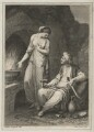 Subject from the Arabian Nights?, by Anker Smith, after  Angelica Kauffmann - NPG D21654