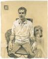 Jonny Lee Miller ('Jonny Lee Miller and Ethel'), by Stuart Pearson Wright - NPG 6753