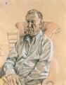 Geoffrey Palmer, by Stuart Pearson Wright - NPG 6755