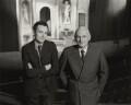 Sir Donald Arthur Rolleston Albery; Ian Bronson Albery, by Rex Coleman, for  Baron Studios - NPG x128258