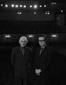 Sir Donald Arthur Rolleston Albery; Ian Bronson Albery, by Rex Coleman, for  Baron Studios - NPG x128266