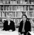 Jeremy Dixon; Edward David Brynmor Jones, by Valerie Bennett - NPG x128269