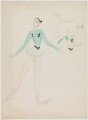 Louise Browne (costume design for Louise Browne for the revue 'After Dark'), by Hedley Gawthorne Briggs - NPG D22550