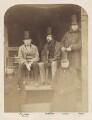 Possibly John Trotman; George William Frederick Howard, 7th Earl of Carlisle; Lord Alfred Henry Paget; John Yates; Isambard Kingdom Brunel, probably by Robert Howlett - NPG x4994