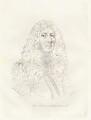 John Aubrey, by Mary Dawson Turner (née Palgrave), after  William Faithorne - NPG D22560