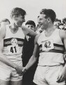 Sir Roger Bannister; Sir Christopher John Chataway, by Central Press - NPG x45737