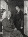 Sir Charles Vyner de Windt Brooke; Sylvia Leonora (née Brett), Lady Brooke, Ranee of Sarawak, by Bassano Ltd - NPG x150287