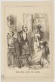 'Miss Mill joins the Ladies' (Edward John Eyre; Robert Wellesley Grosvenor, 2nd Baron Ebury; William Henry Smith; John Stuart Mill), by John Proctor - NPG D22624