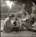 Enid Blyton; Gillian Mary Baverstock (née Pollock); Imogen Pollock, by John Gay - NPG x128508