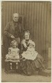 The Armstrongs with their grandchildren, by Unknown photographer - NPG Ax128335
