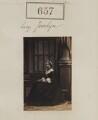 Frances Elizabeth Jocelyn (née Cowper), Viscountess Jocelyn, by Camille Silvy - NPG Ax50312