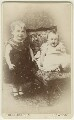 Two unknown children, by Fred Harrison - NPG Ax128314