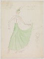 Louise Browne (costume design for Louise Browne for the revue 'After Dark'), by Hedley Gawthorne Briggs - NPG D22552