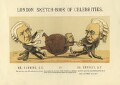 Henry Hawkins, Baron Brampton; Arthur Orton; Edward Vaughan Hyde Kenealy, by Faustin Betbeder ('Faustin') - NPG D23025