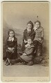 The McDonald daughters (Aggie McDonald; Grace McDonald; Nellie McDonald; Flora McDonald McDonald), by W. Perry - NPG Ax128354
