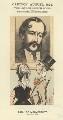 James Howard Harris, 3rd Earl of Malmesbury, by Faustin Betbeder ('Faustin') - NPG D23043