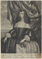 Catherine of Braganza, by William Faithorne, after  Dirk Stoop - NPG D22671