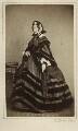 Emily Mary ('Amelia') (née Lamb), Viscountess Palmerston, by Henry Hering - NPG x1476