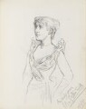 Olga Isabel Nethersole, by Percy Frederick Seaton Spence - NPG D23134(18)