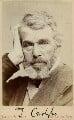 Thomas Carlyle, by Elliott & Fry - NPG Ax28576