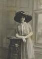 Florence Mary Hay (née Darell), Countess of Kinnoull (later Mrs Berington), by Bassano Ltd - NPG x85765