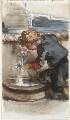 Unknown boy, by Louisa Anne Beresford - NPG D23146(31)