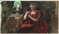 Mary Cochran, by Louisa Anne Beresford - NPG D23146(33)