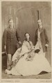King Edward VII; Queen Alexandra; George I, King of Greece, by Southwell Brothers - NPG Ax24438