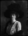 Mary Frances (née Nevill), Marchioness of Abergavenny, by Bassano Ltd - NPG x37456