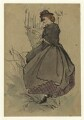 Figure study of an unknown woman, by George Estall - NPG D23187