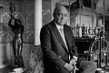 Mohamed al-Fayed, by Robin Laurance - NPG x128605