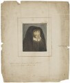 Unknown woman, formerly known as Catherine (née FitzGerald), Countess of Desmond, by Barlace, after  Unknown artist - NPG D23294