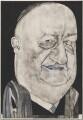 Richard Austen ('Rab') Butler, 1st Baron Butler of Saffron Walden, by Barry Fantoni - NPG 6776