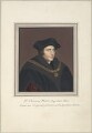 Sir Thomas More, attributed to Thomas Athow, after  Hans Holbein the Younger - NPG D23246