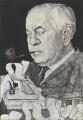 Harold Wilson, by Barry Fantoni - NPG 6788