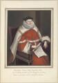 Sir Randolph Crewe (Crew), attributed to Thomas Athow - NPG D23259