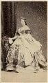 Carlota Isabel Maria de Saldanha, Duchess of Saldanha, by Fratelli D'Alessandri - NPG Ax46347